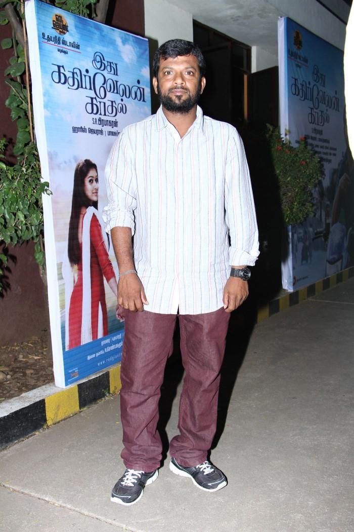 Idhu Kathirvelan Kadhal Movie Press Meet Stills