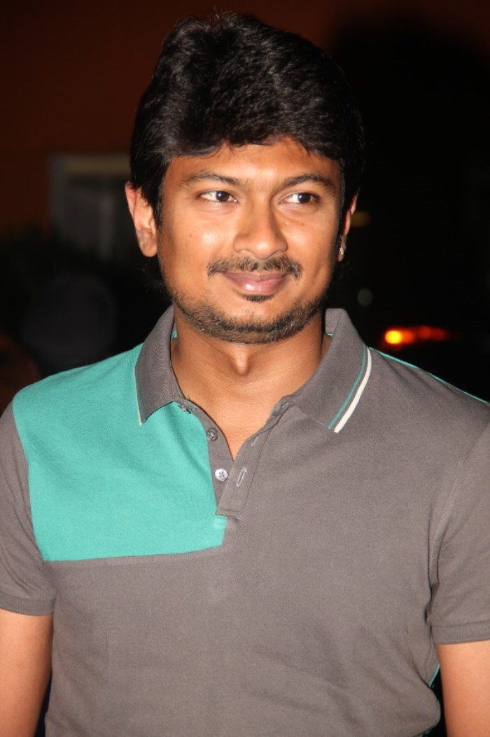 Actor Udhayanidhi Stalin @ Idhu Kathirvelan Kadhal Movie Press Meet Stills