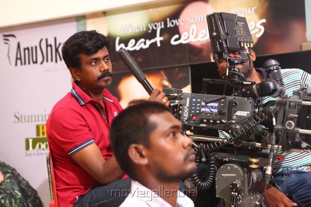 Cinematographer Balasubramaniam @ Idhu Kathirvelan Kadhal Shooting Spot Stills