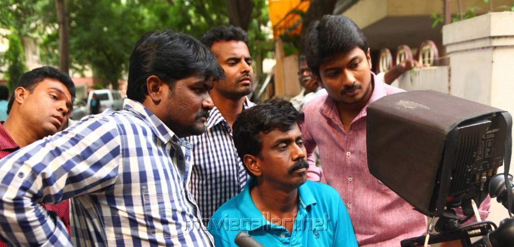 Idhu Kathirvelan Kadhal Shooting Spot Stills