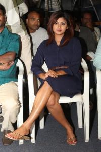 Actress Oviya Helen @ Idi Naa Love Story Logo Launch Stills