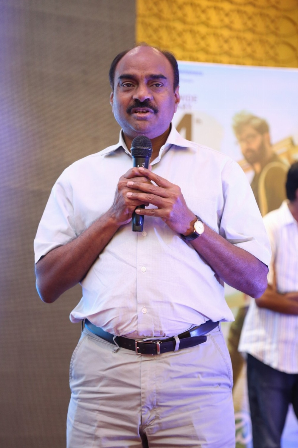 Producer KL Narayana @ Idi Naa Love Story Pre Release Function Stills