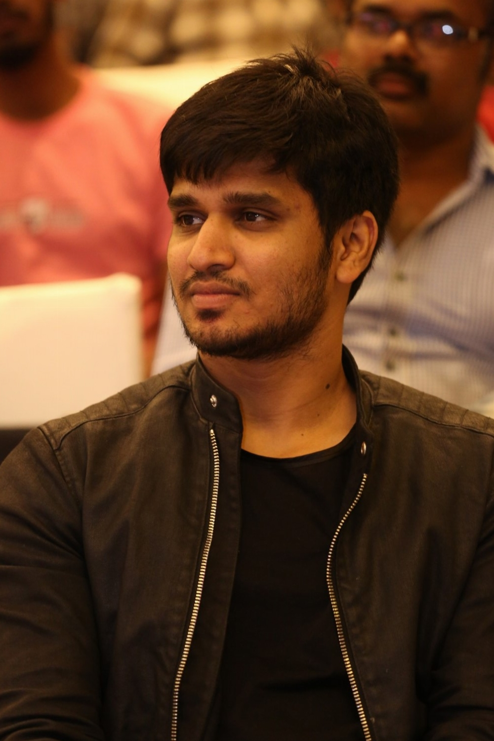 Nikhil @ Idi Naa Love Story Pre Release Function Stills