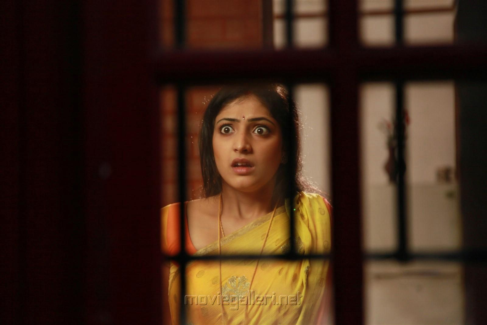 Actress Hari Priya in Idi Pedda Saitan Movie Stills