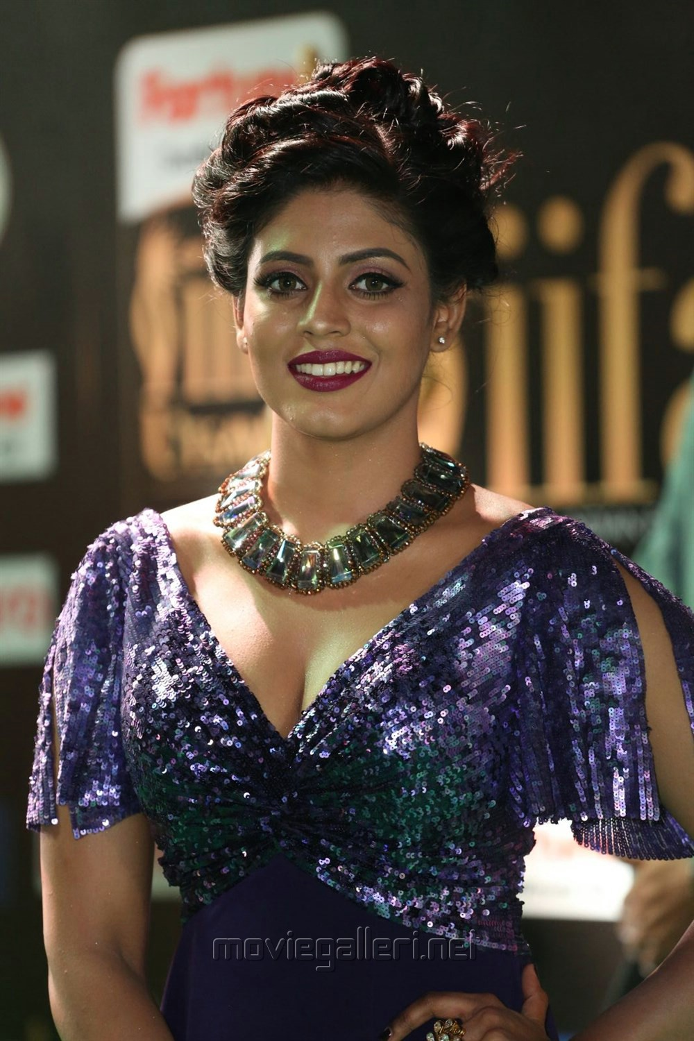 Actress Iniya @ IIFA Utsavam Awards 2017 Green Carpet Stills
