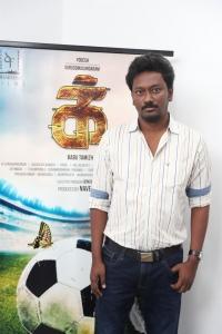 Director Babu Tamizh @ IKK Movie Pooja Stills