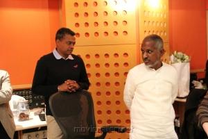 Ilayaraja & Gautham Menon for Song Composing