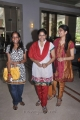 Karthik Raja wife Raja Rajeswari at Ilayaraja Birthday Celebration 2012