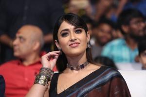 Actress Ileana in Brown Saree Photos HD @ Amar Akbar Anthony Pre-Release