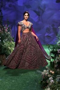 Actress Ileana D Cruz Walks Ramp @ Lakme Fashion Week 2020 Photos
