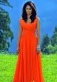 Actress Ileana D'Cruz Latest Stills in Orange Color Dress