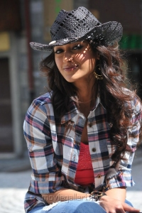 Actress Ileana in Checked Shirt Hot Pictures