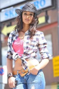 Actress Ileana in Checked Shirt Hot Pics