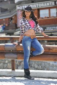 Actress Ileana in Cowboy Dress Hot Stills