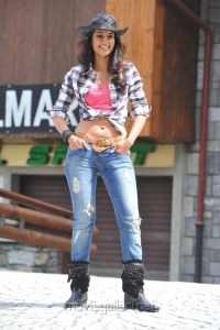 Actress Ileana in Checked Shirt & Jeans Hot Stills