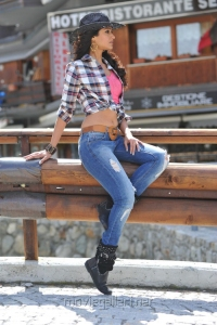 Ileana New Hot Pictures in Cowboy Dress
