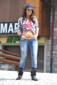 Actress Ileana in Cowboy Dress Hot Pictures