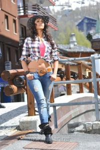 Ileana New Hot Pictures in Checked Shirt
