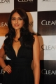 Ileana D'Cruz in Black Long Gown Dress as Clear Shampoo Ambassador