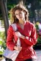 Ileana in Red Dress Stills