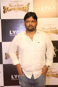 Director Chimbudevan @ Imsai Arasan 24am Pulikesi Movie Pooja Stills