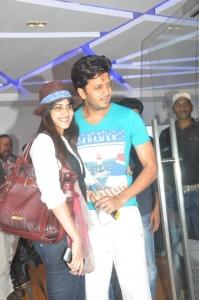 Ritesh, Genelia @ Inam Movie Mumbai Premiere Show Stills