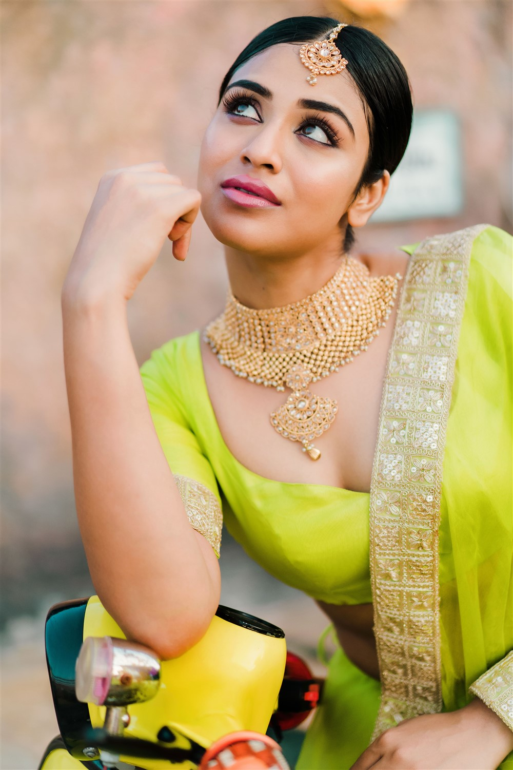Actress Indhuja Latest Photoshoot Pics