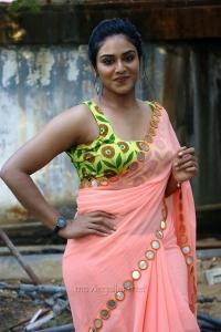 Tamil Actress Indhuja Hot Saree Photos HD