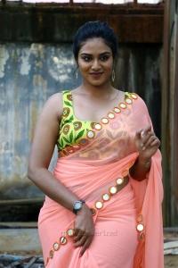 Actress Indhuja Saree Photos @ Super Duper Trailer Launch