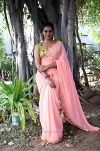 Actress Indhuja Photos @ Super Duper Trailer Launch