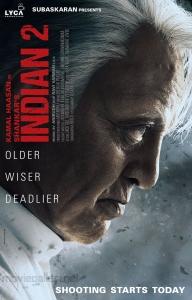 Kamal Haasan Indian 2 Movie Shooting Starts Today Posters HD