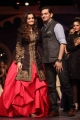 Dia Mirza walks for Raghavendra Rathore at Bridal Fashion Week