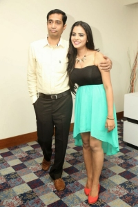 Manasa @ Indian Princess 2014 Winner Chandni Sharma Press Meet Stills
