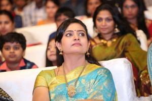 Actress Indraja Photos @ Satamanam Bhavathi Audio Release