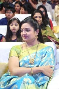 Actress Indraja Photos @ Sathamanam Bhavathi Audio Release