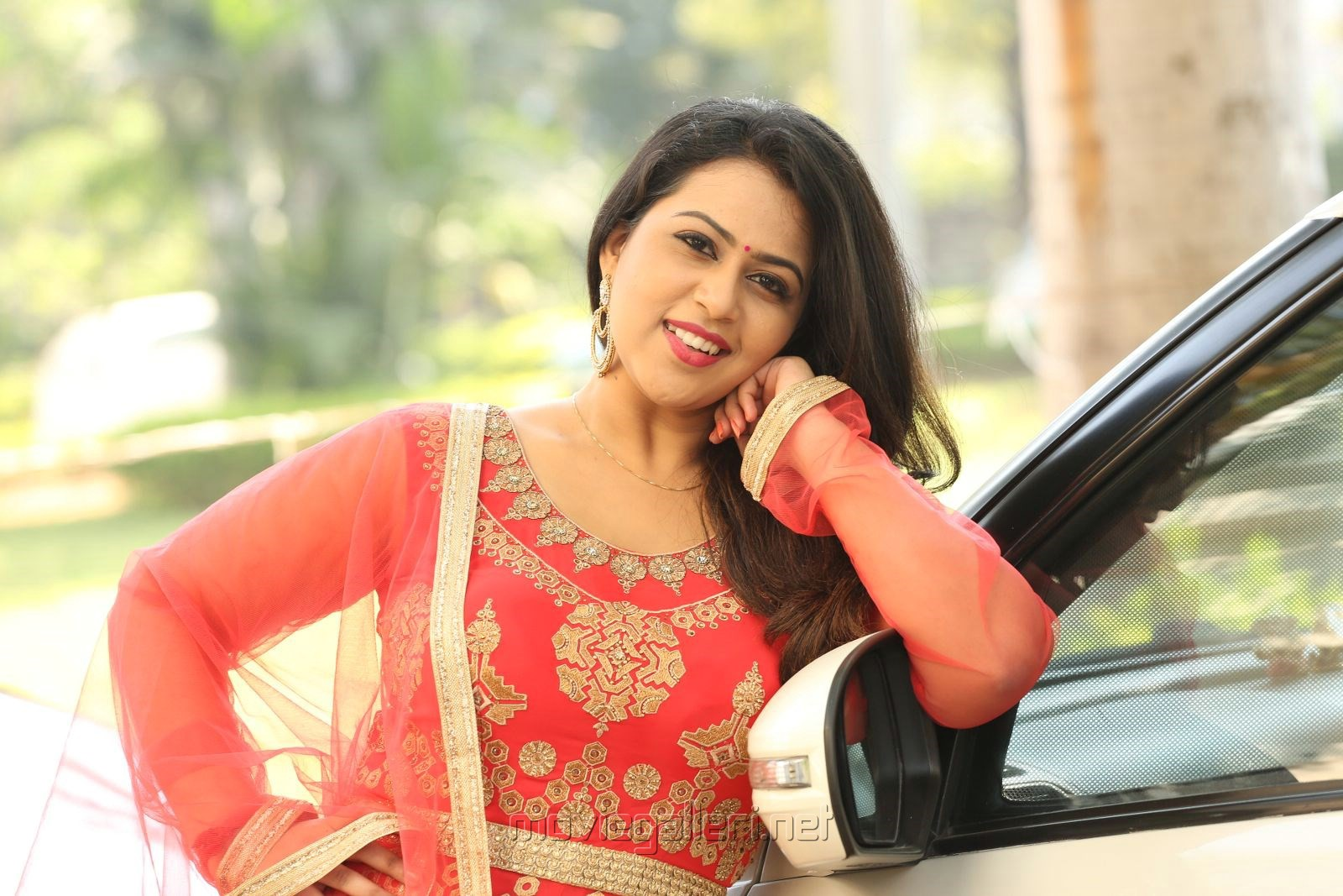 Actress Diana Champika Pictures @ Indrasena Movie Interview