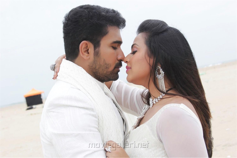 Vijay Antony, Diana Champika in Indrasena Telugu Movie Stills