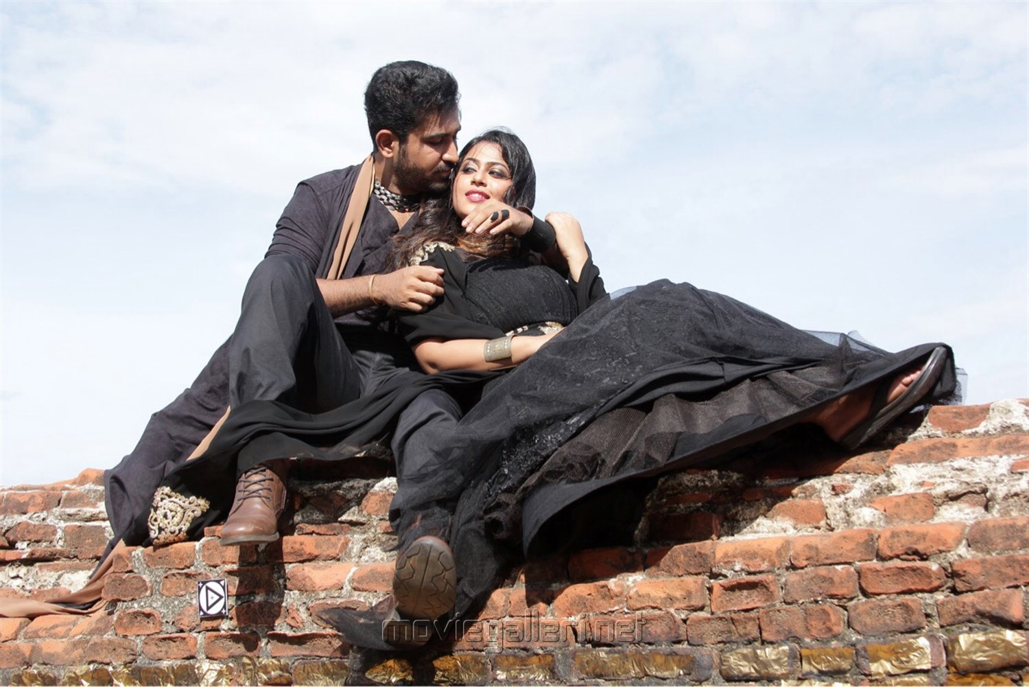 Vijay Antony, Diana Champika in Indrasena Telugu Movie Stills