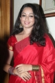 Actress Indu Thampi in Red Traditional Silk Saree Pics