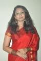Actress Indu Thampi Cute Pics in Red Saree