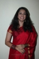 Actress Indu Thampi Cute Beautiful Pics in Red Saree