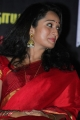 Indu Thampi Cute Photos in Saree at Nizhal Movie Press Meet