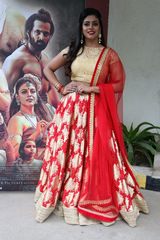 Actress Iniya New Images @ Mamangam Movie Team Meet