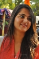 Actress Anushka in Churidar @ Inji Idupazhagi Pooja