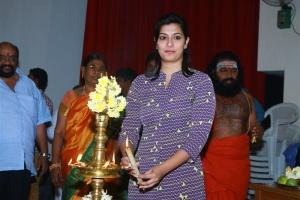 Varalaxmi Sarathkumar @ Intha Nilai Marum Movie Pooja Stills