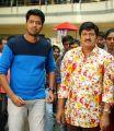 Allari Naresh, Rajendra Prasad in Intlo Deyyam Nakem Bhayam Movie Stills
