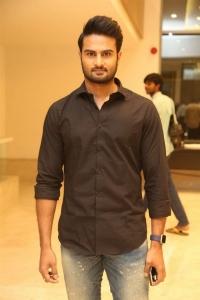 Sudheer Babu @ Intlo Deyyam Nakem Bhayam Trailer Launch Stills