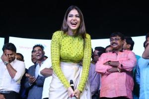 Actress Lavanya Tripathi @ Inttelligent Pre Release Event Photos