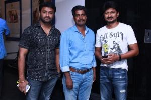 Gaurav, Kannan, Udhayanidhi @ Ippadai Vellum Special Show Photos