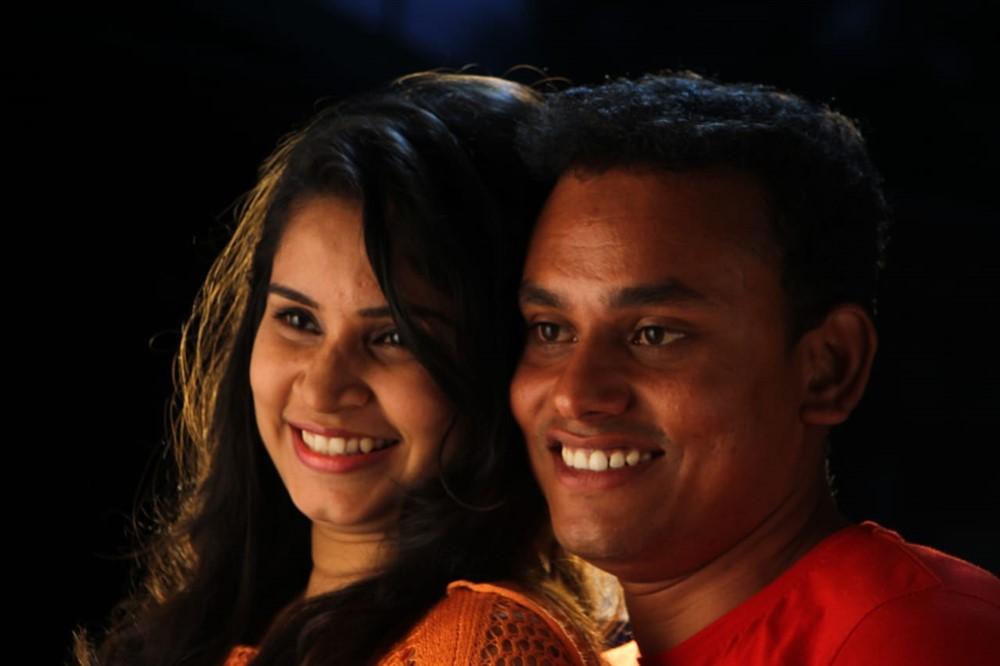 Viswa, Bindhu in IR 8 Movie Stills